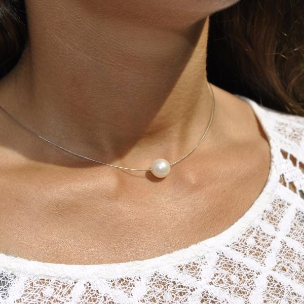 collier perle nacree