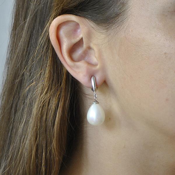 boucles d'oreilles pendantes clips